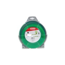 Silk za trimer , kockasti - zelen 2.4mm  x 75m  69-414
